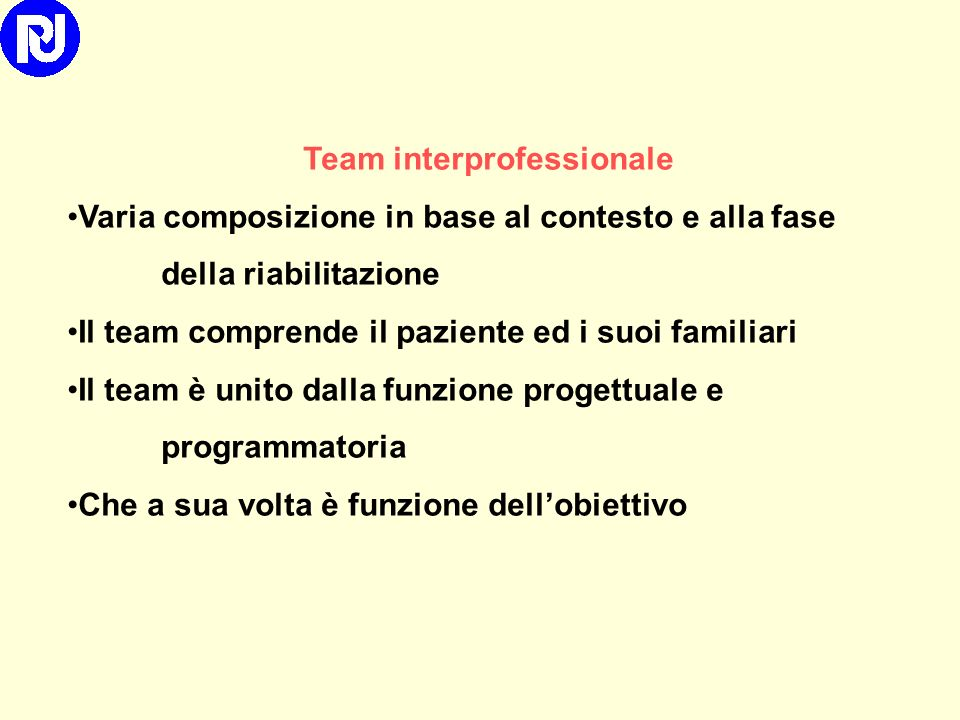 Team interprofessionale