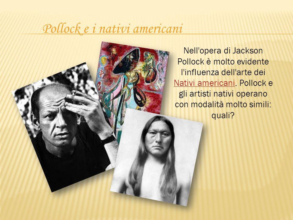 Pollock e i nativi americani