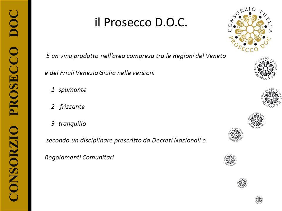 il Prosecco D.O.C. CONSORZIO PROSECCO DOC