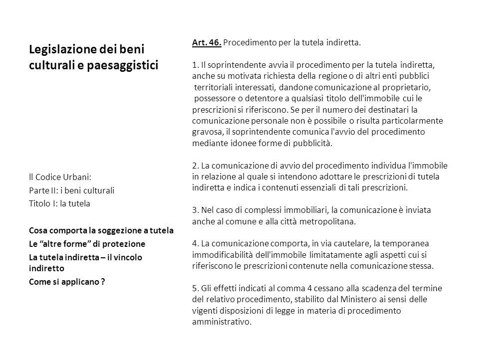 Legislazione dei beni culturali e paesaggistici ppt scaricare - Donazione indiretta immobile ...