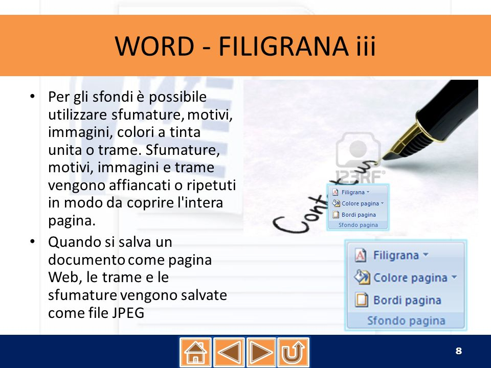 WORD - FILIGRANA iii
