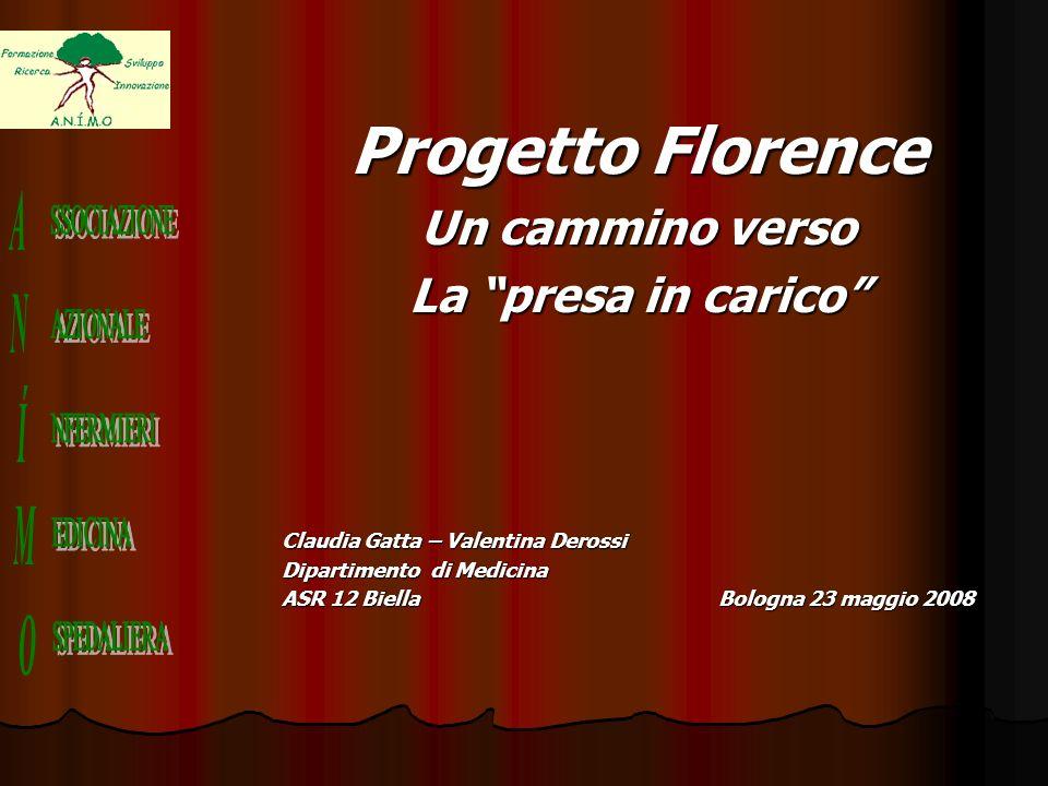 Progetto Florence Un cammino verso La presa in carico