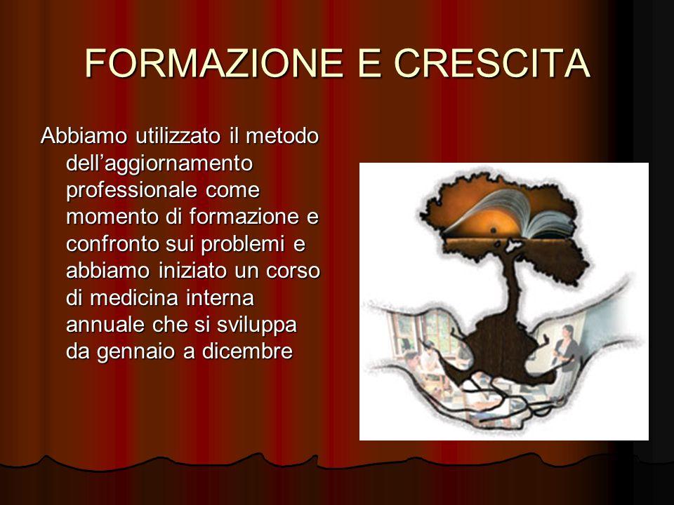 FORMAZIONE E CRESCITA