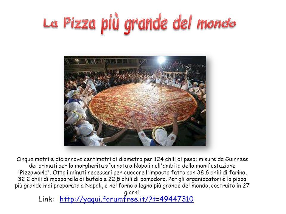 La Pizza più grande del mondo
