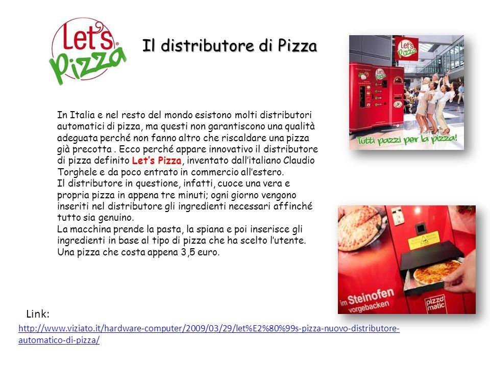 Il distributore di Pizza