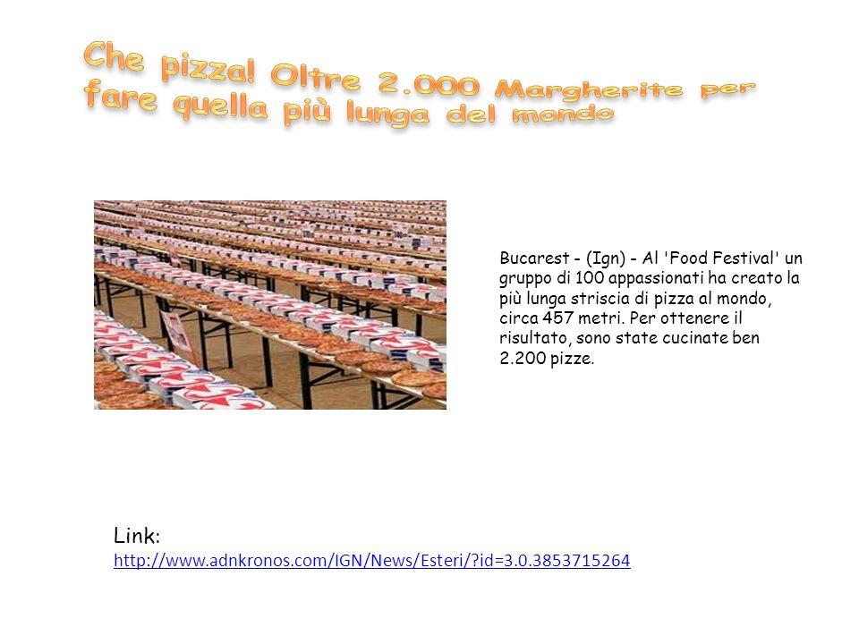 Che pizza! Oltre 2.000 Margherite per fare quella più lunga del mondo