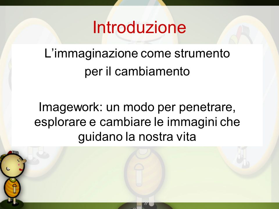 L'immaginazione come strumento