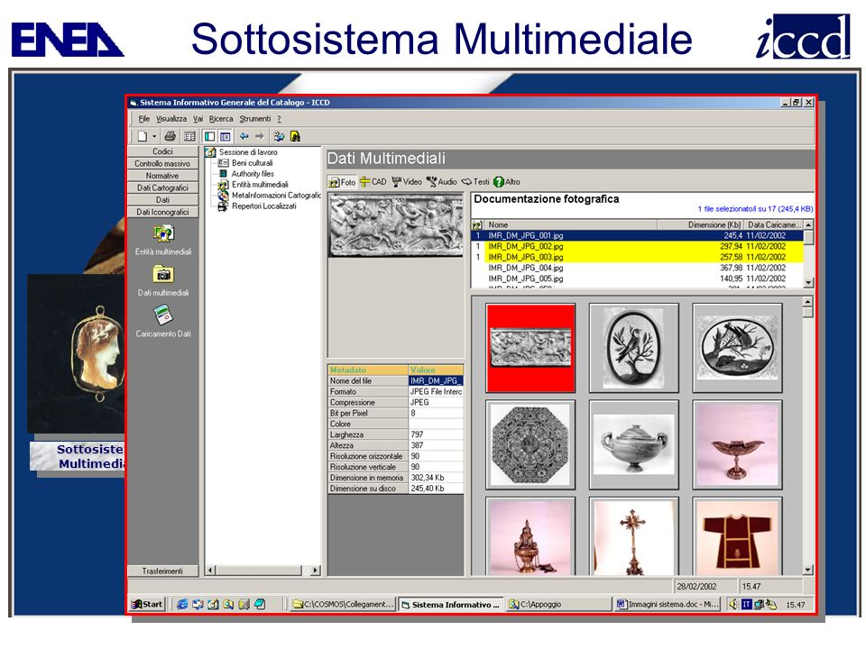 Sottosistema Multimediale