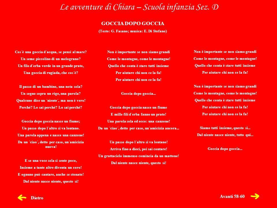 (Testo: G. Fasano; musica: E. Di Stefano)