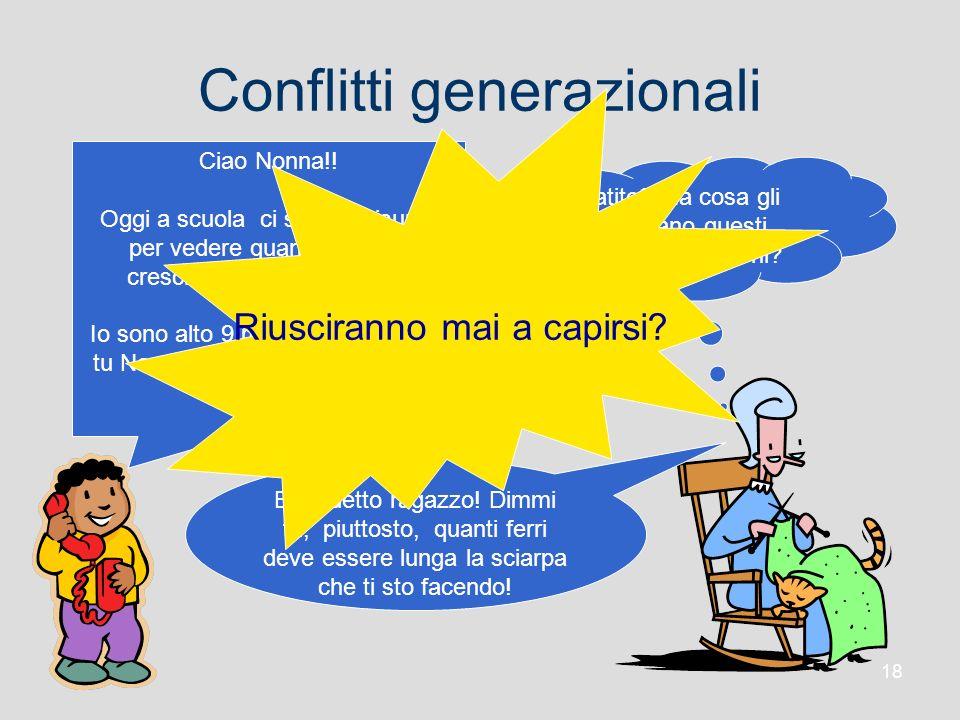 Conflitti generazionali