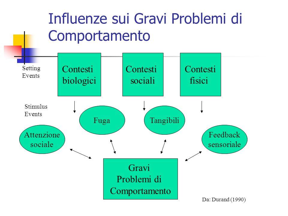 Influenze sui Gravi Problemi di Comportamento