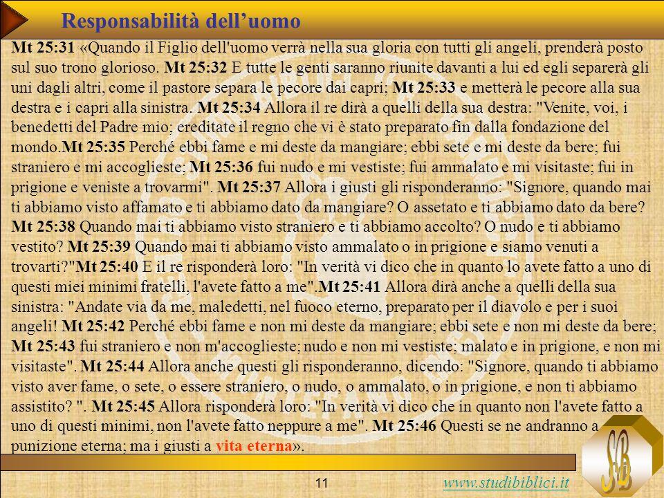 Responsabilità dell'uomo