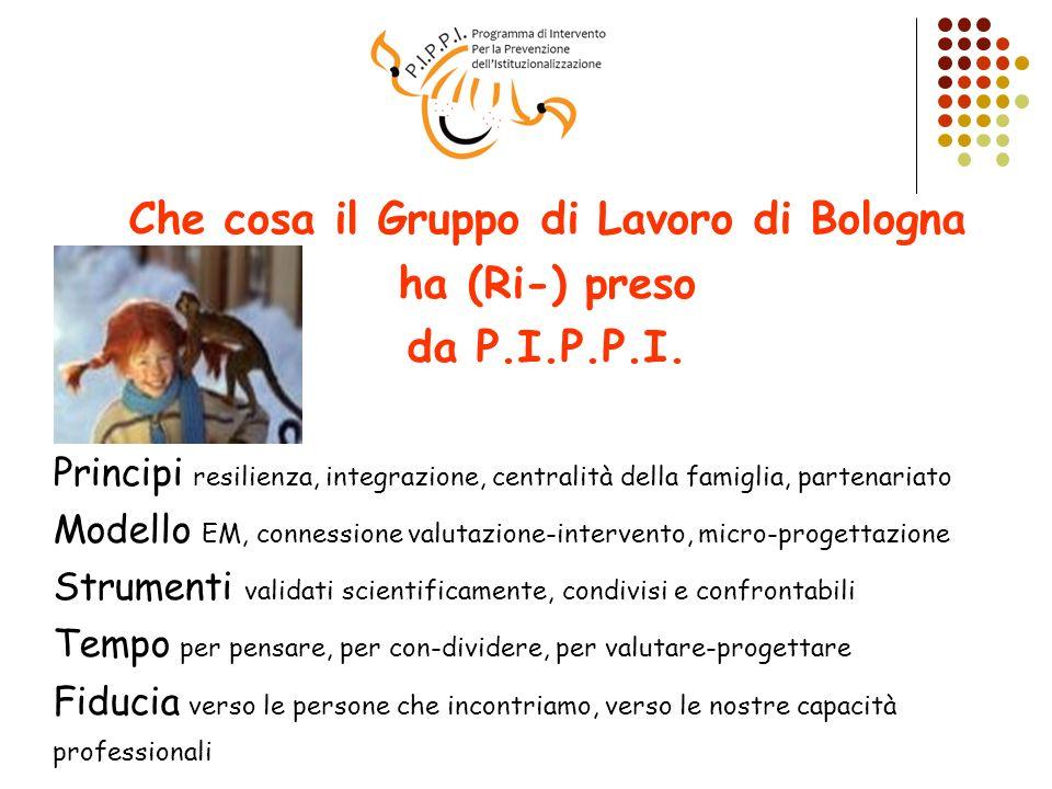 Che cosa il Gruppo di Lavoro di Bologna