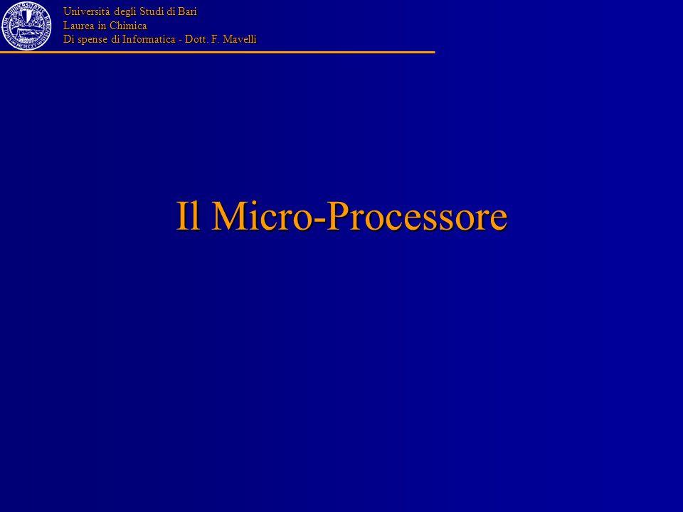 Il Micro-Processore