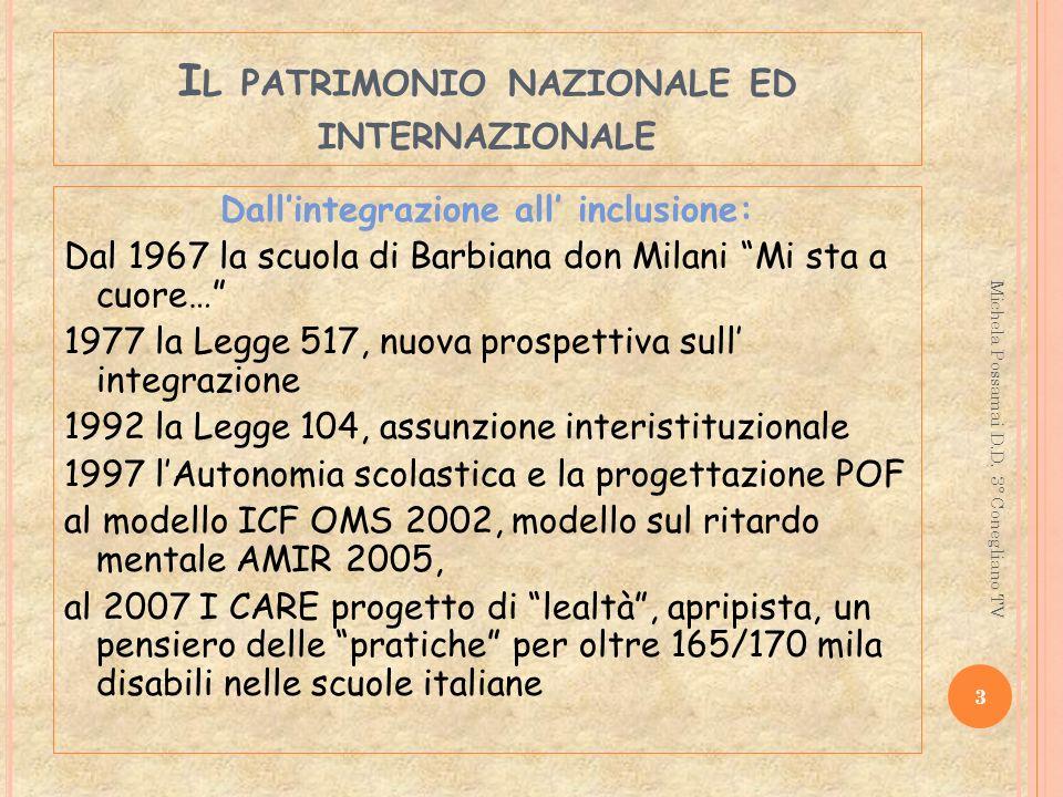 Il patrimonio nazionale ed internazionale