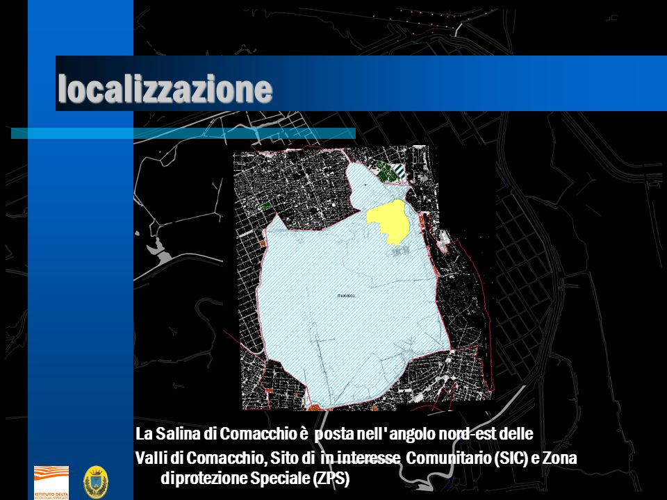 localizzazione La Salina di Comacchio è posta nell angolo nord-est delle.