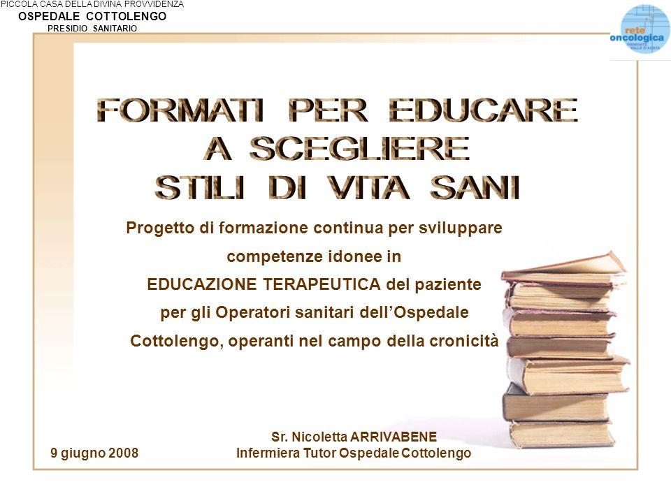 FORMATI PER EDUCARE A SCEGLIERE STILI DI VITA SANI