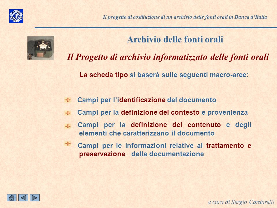 Archivio delle fonti orali