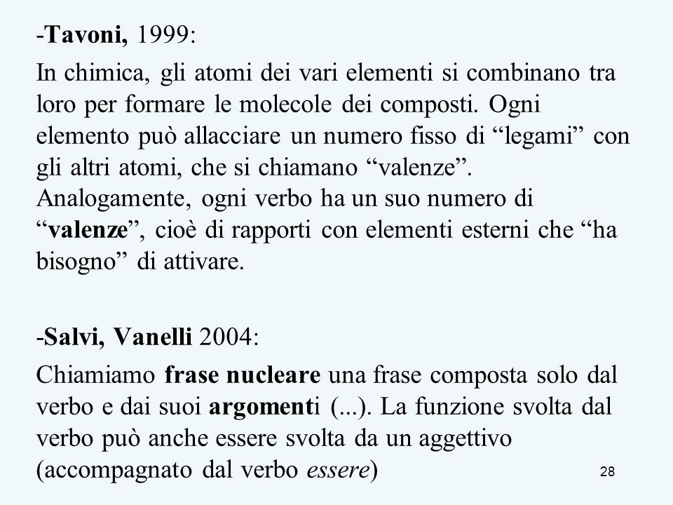 -Tavoni, 1999:
