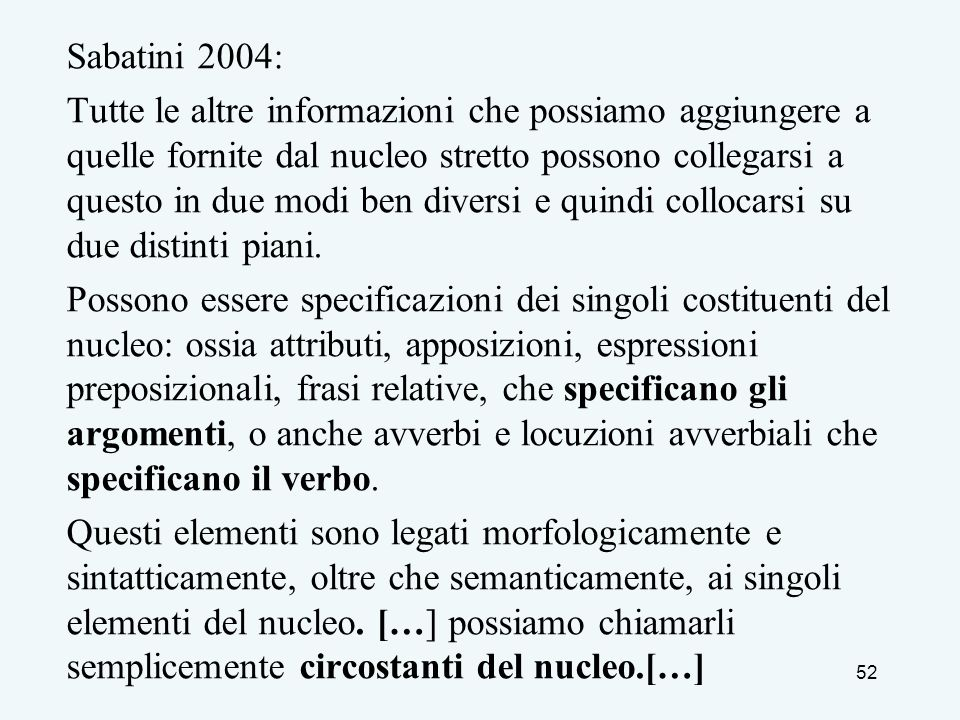 Sabatini 2004: