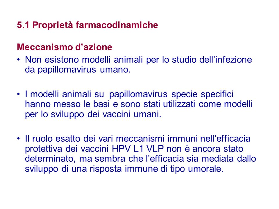 5.1 Proprietà farmacodinamiche