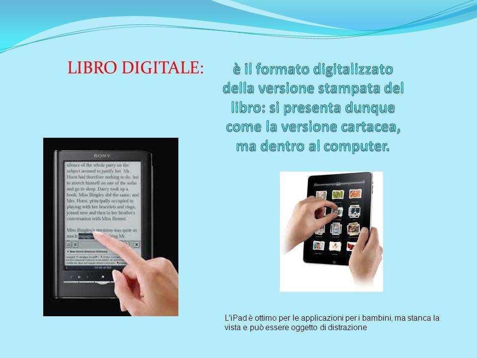 è il formato digitalizzato della versione stampata del libro: si presenta dunque come la versione cartacea, ma dentro al computer.