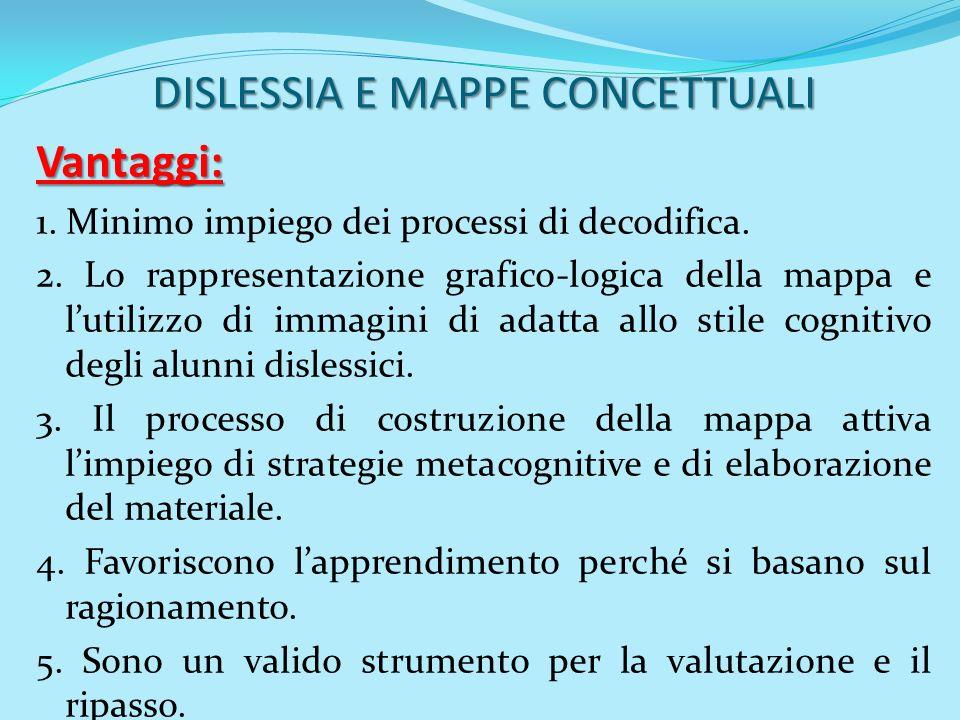 DISLESSIA E MAPPE CONCETTUALI