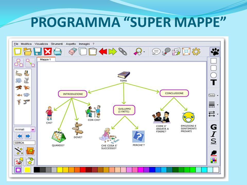 PROGRAMMA SUPER MAPPE