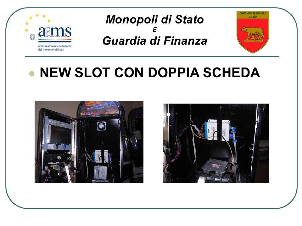 NEW SLOT CON DOPPIA SCHEDA
