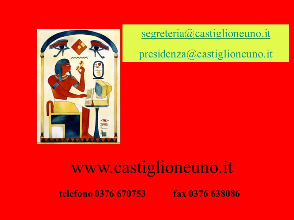 www.castiglioneuno.it segreteria@castiglioneuno.it