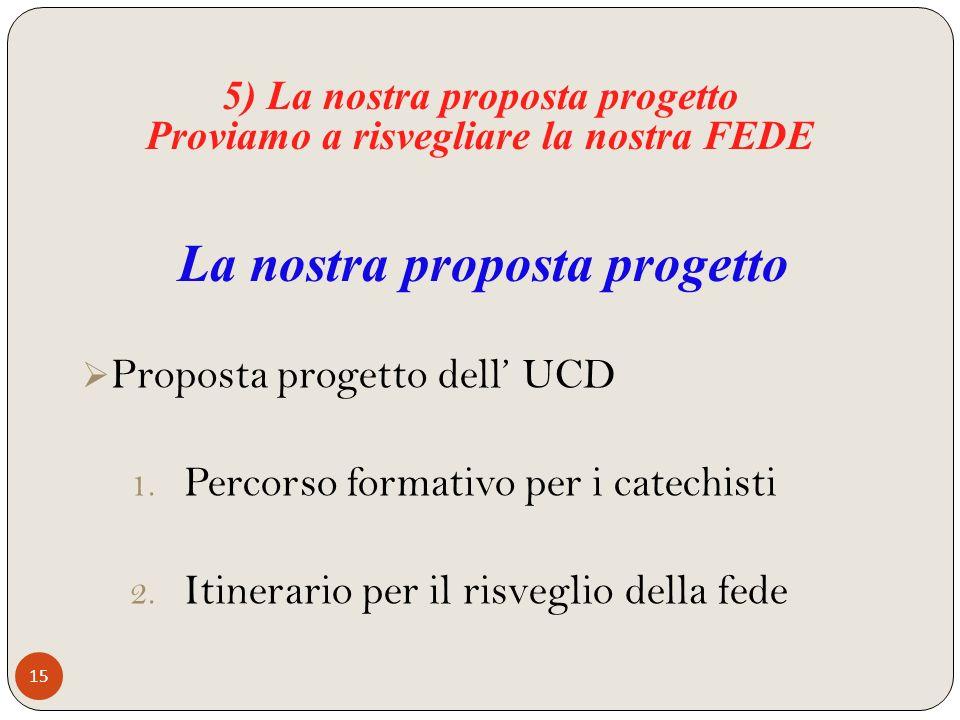 La nostra proposta progetto