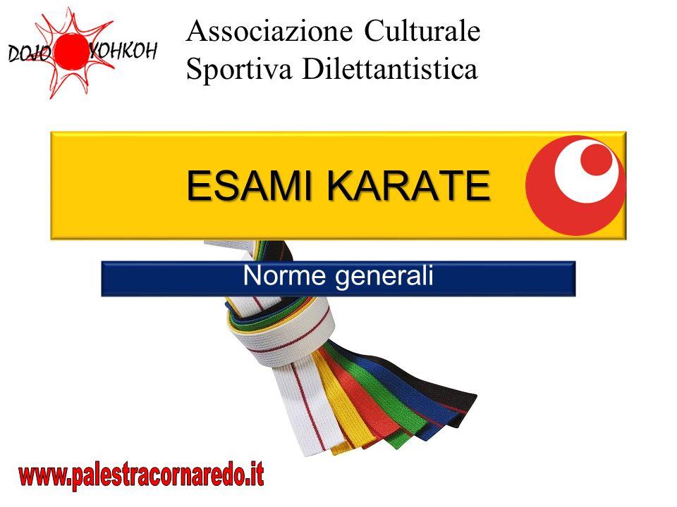 ESAMI KARATE Associazione Culturale Sportiva Dilettantistica