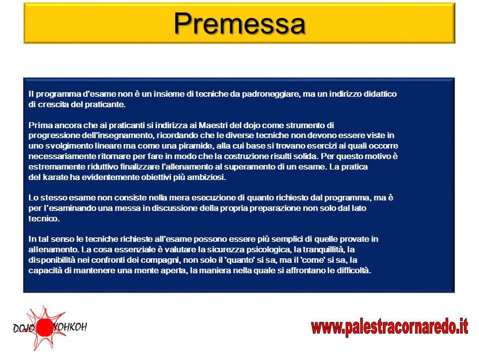 Premessa www.palestracornaredo.it