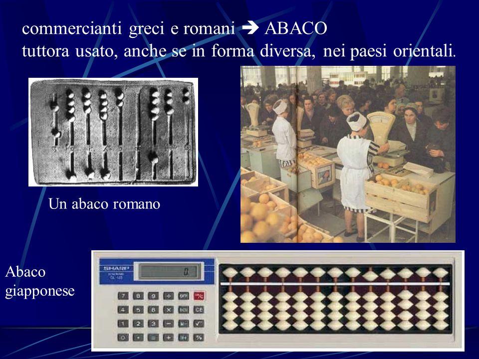 commercianti greci e romani  ABACO