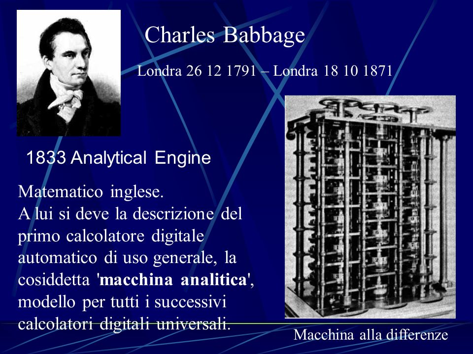 Charles Babbage 1833 Analytical Engine