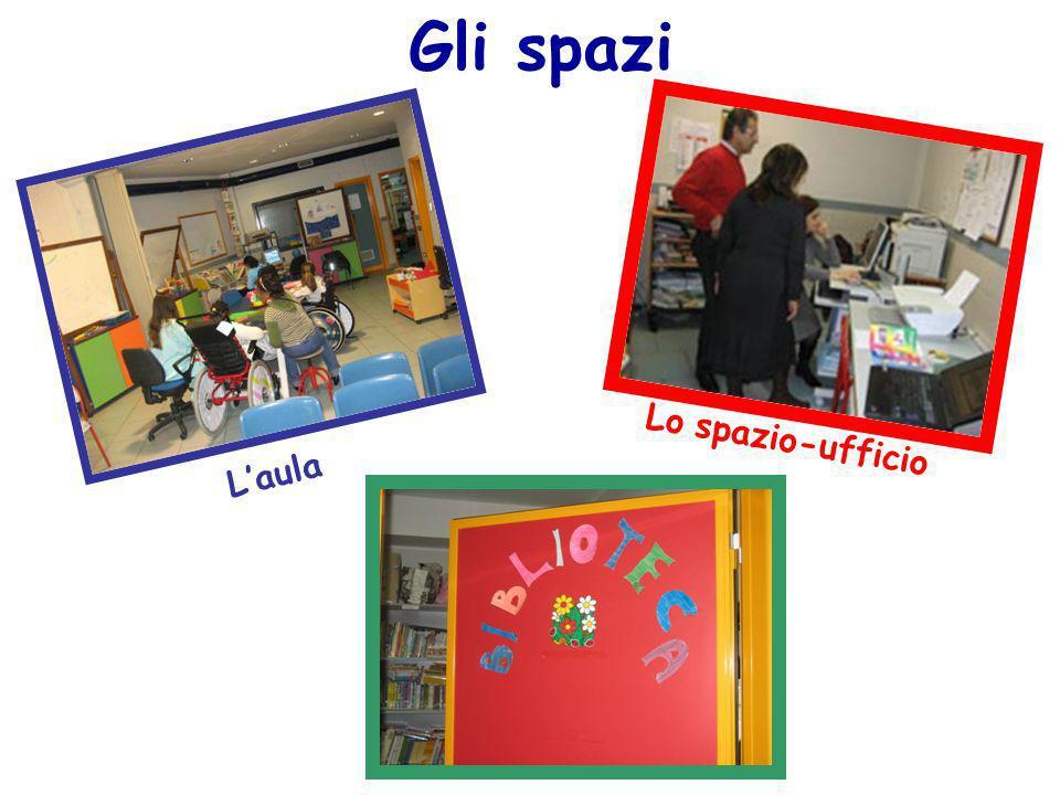 Gli spazi Lo spazio-ufficio L'aula