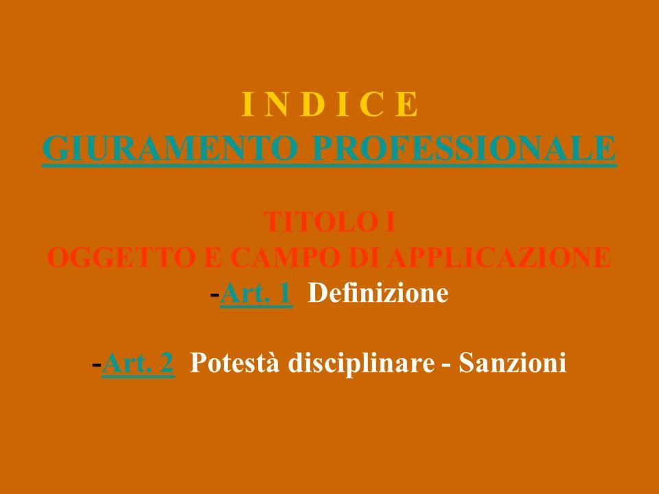 -Art. 2 Potestà disciplinare - Sanzioni