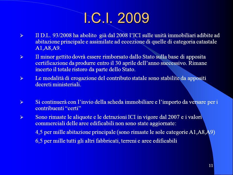 I.C.I. 2009