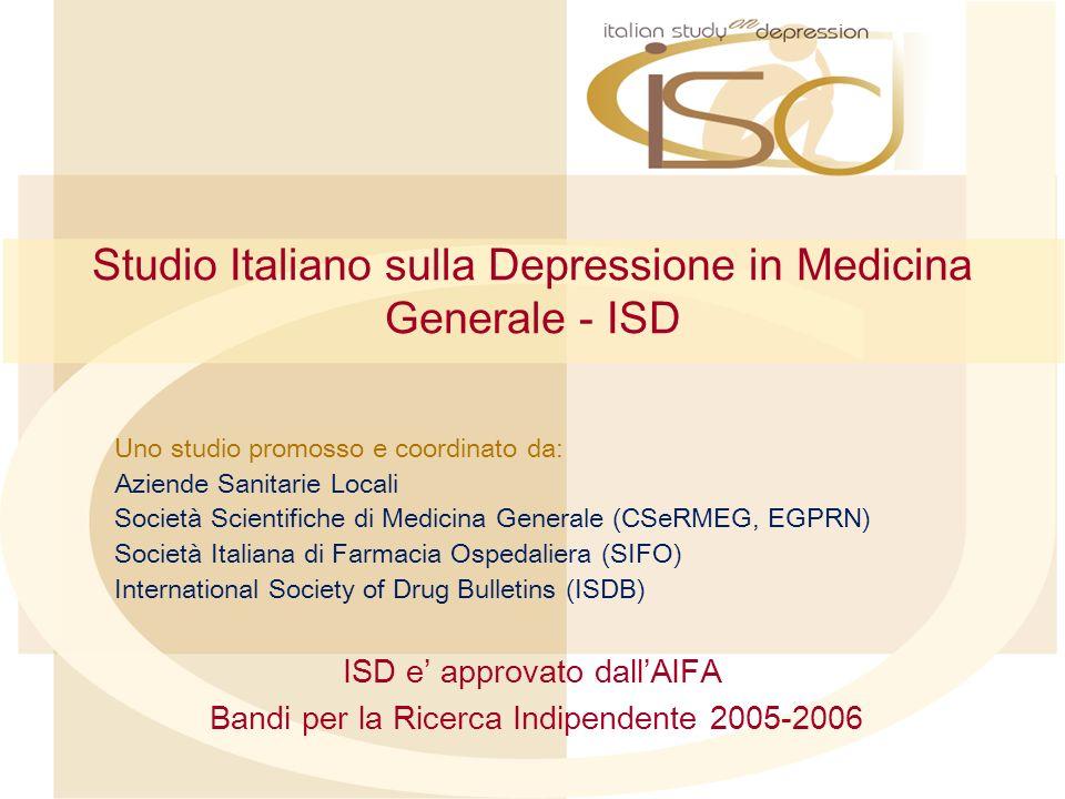 Studio Italiano sulla Depressione in Medicina Generale - ISD