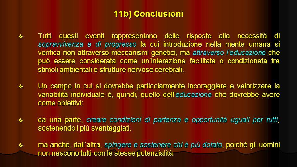 11b) Conclusioni