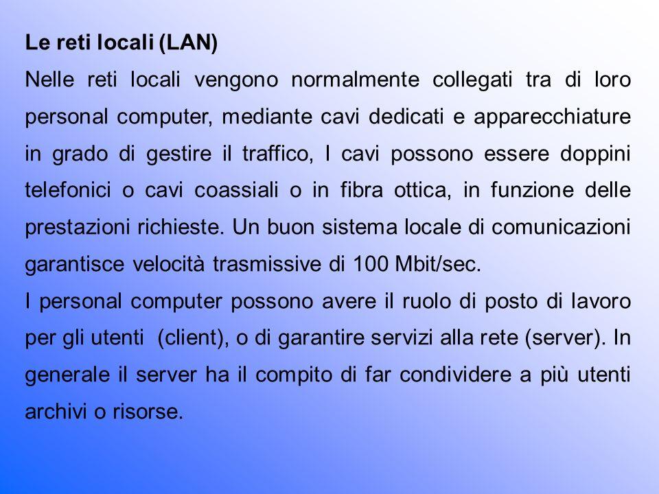Le reti locali (LAN)