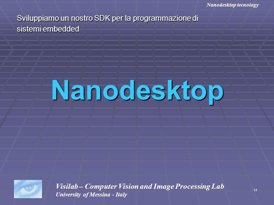 Nanodesktop Sviluppiamo un nostro SDK per la programmazione di