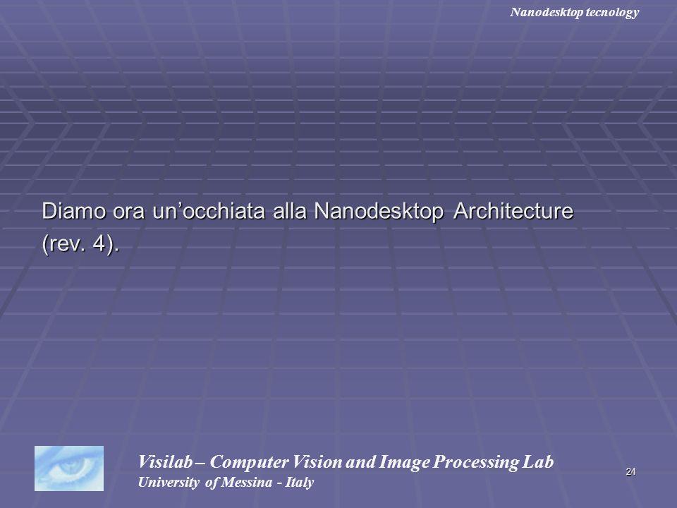 Diamo ora un'occhiata alla Nanodesktop Architecture (rev. 4).