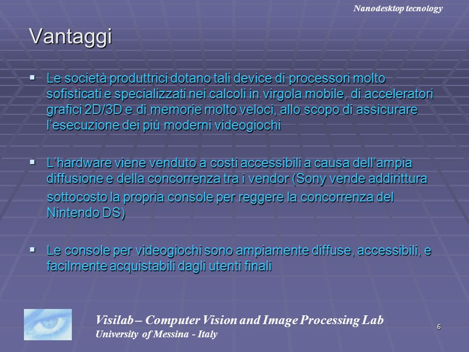 Nanodesktop tecnology