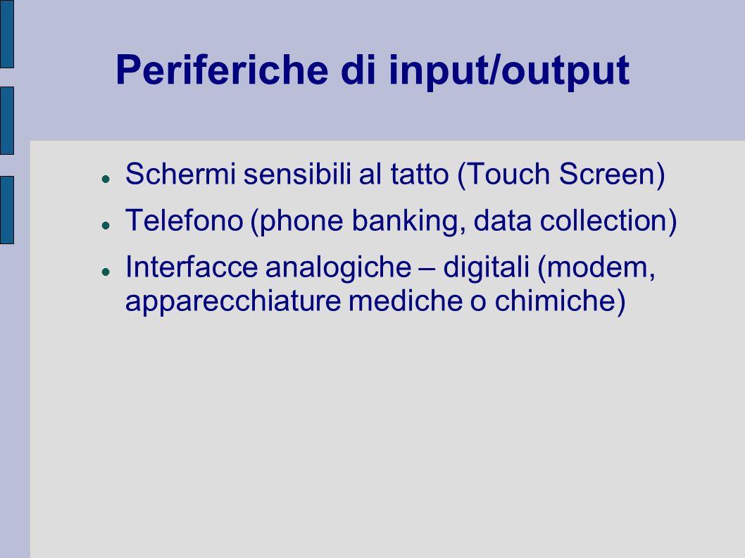 Periferiche di input/output