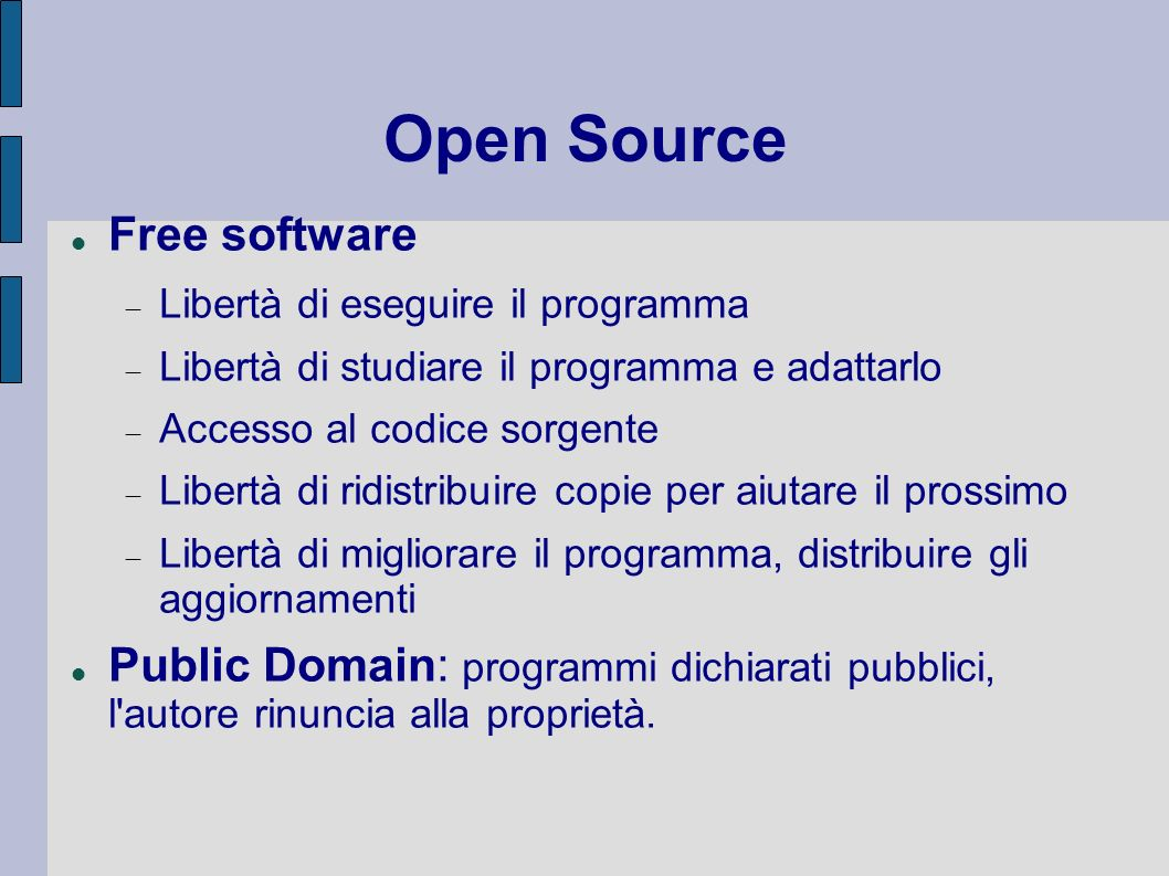 Open Source Free software