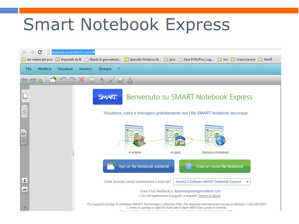 Smart Notebook Express