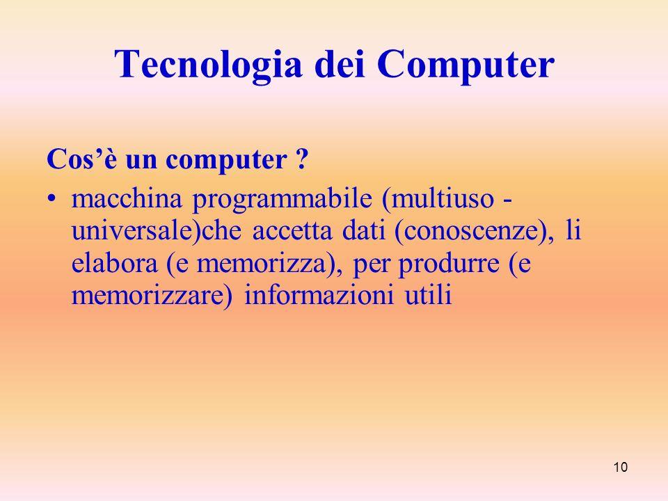 Tecnologia dei Computer