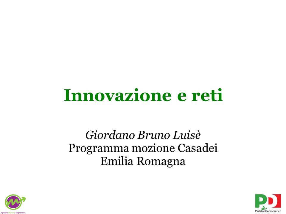 Giordano Bruno Luisè Programma mozione Casadei