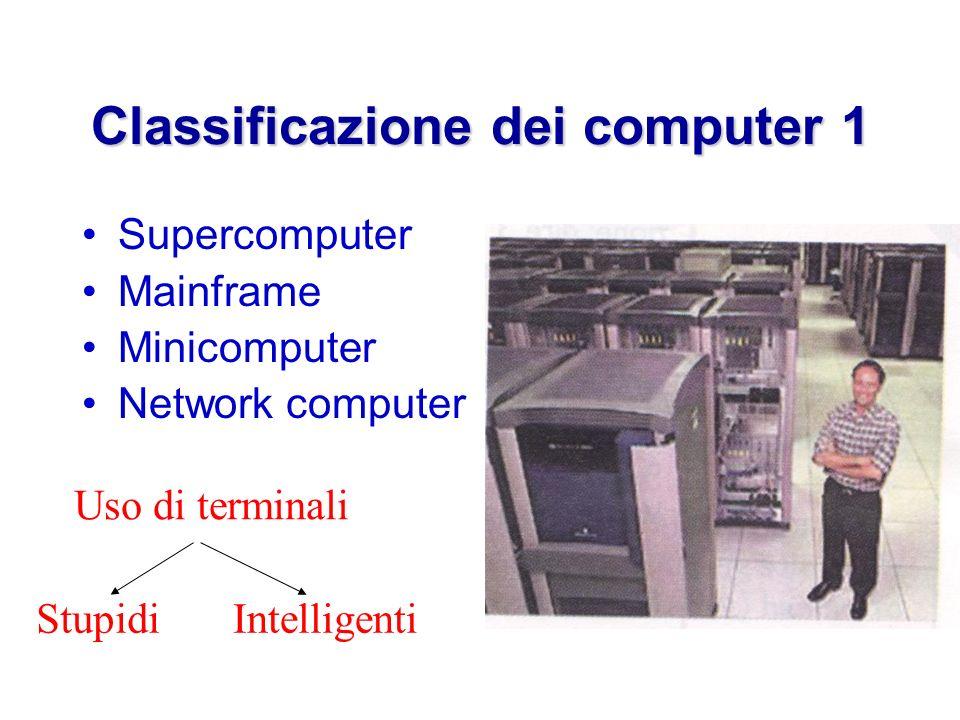 Classificazione dei computer 1